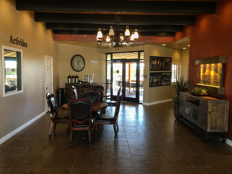 Lobby, Far Horizons, Tucson, AZ
