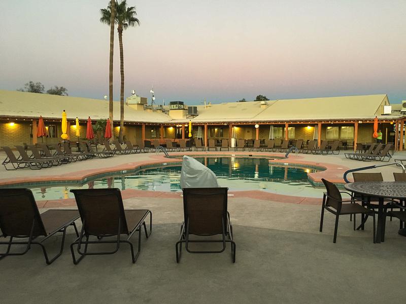 Pool Area, Far Horizons, Tucson, AZ