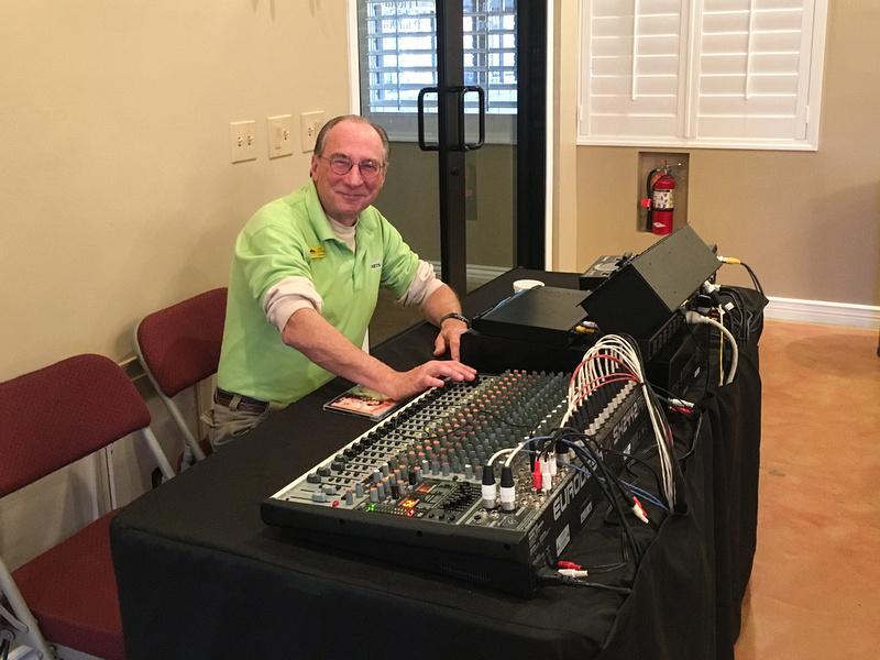 John At The Soundboard