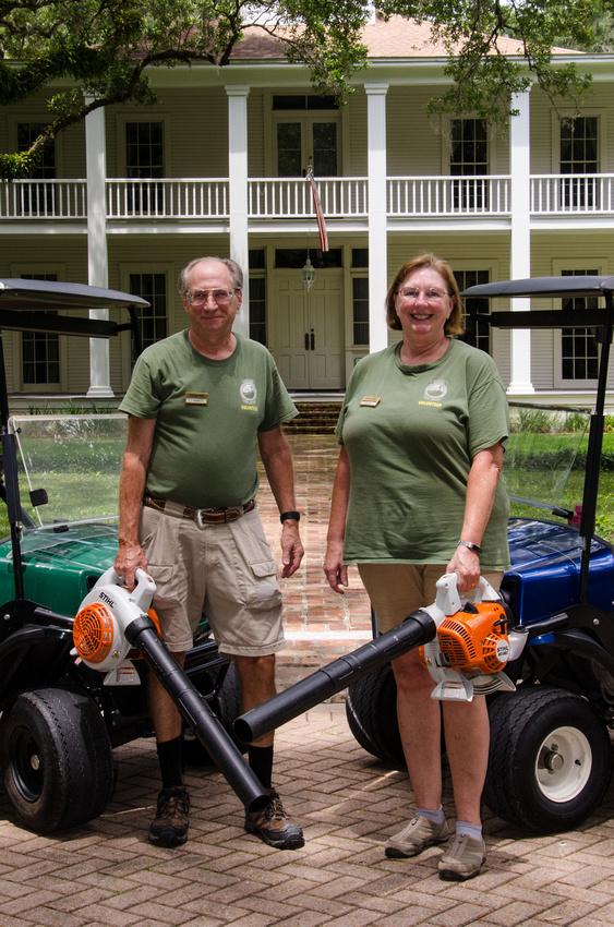 Marie & John in Eden Garden State Park, Florida, USA