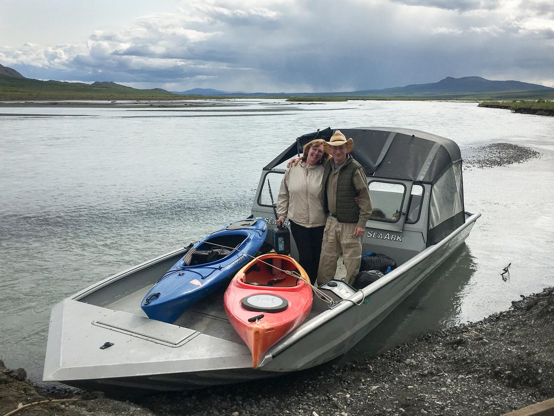 John & Marie, Maclaren River