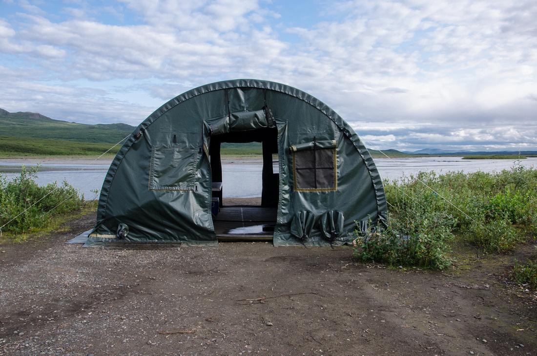 Community Tent, Maclaren Backcountry Camp