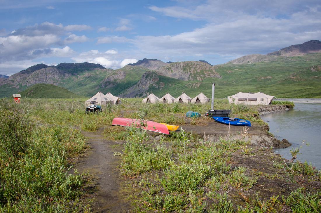 Maclaren Backcountry Camp