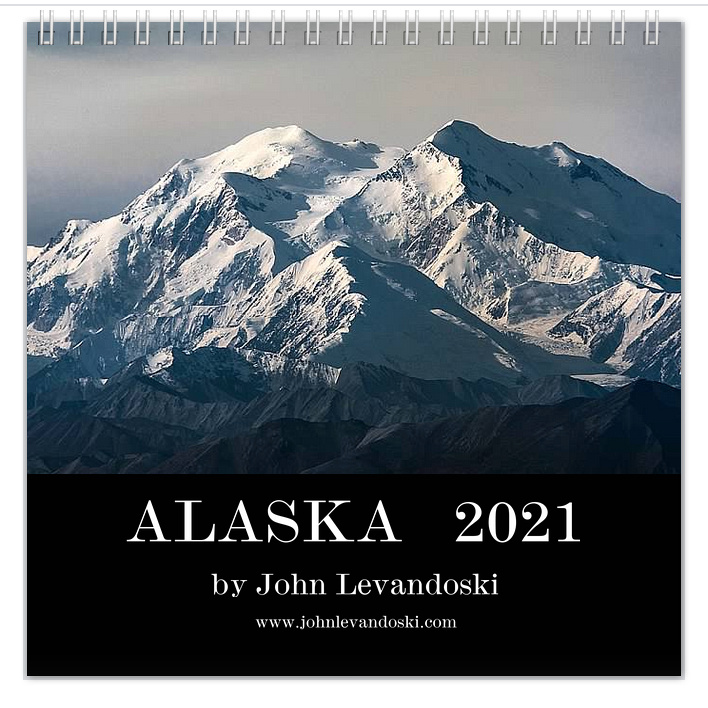 Alaska 2021 Calendar Cover