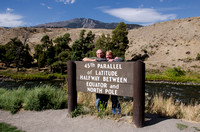 John & Marie, 45th parallel, Yellowstone