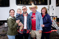 Family by RV, Yellowstone