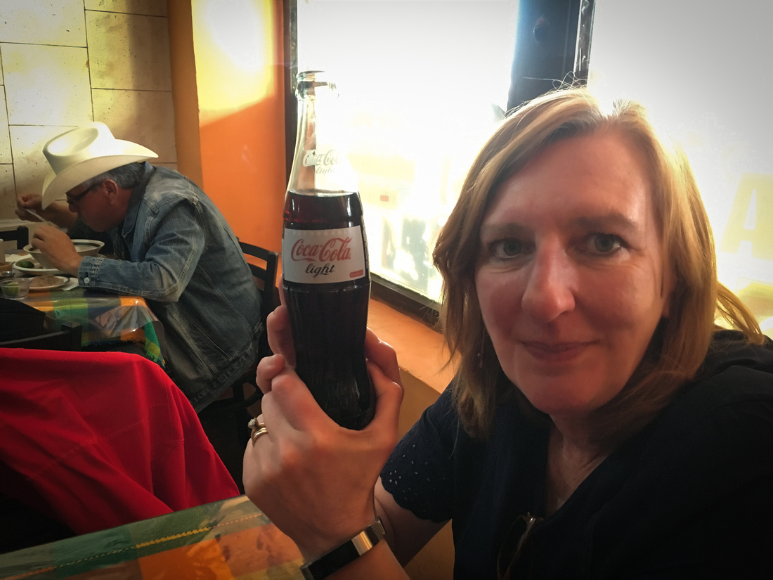 Coca-Cola Light, aka Diet Coke, In A Bottle, Nogales, Mexico
