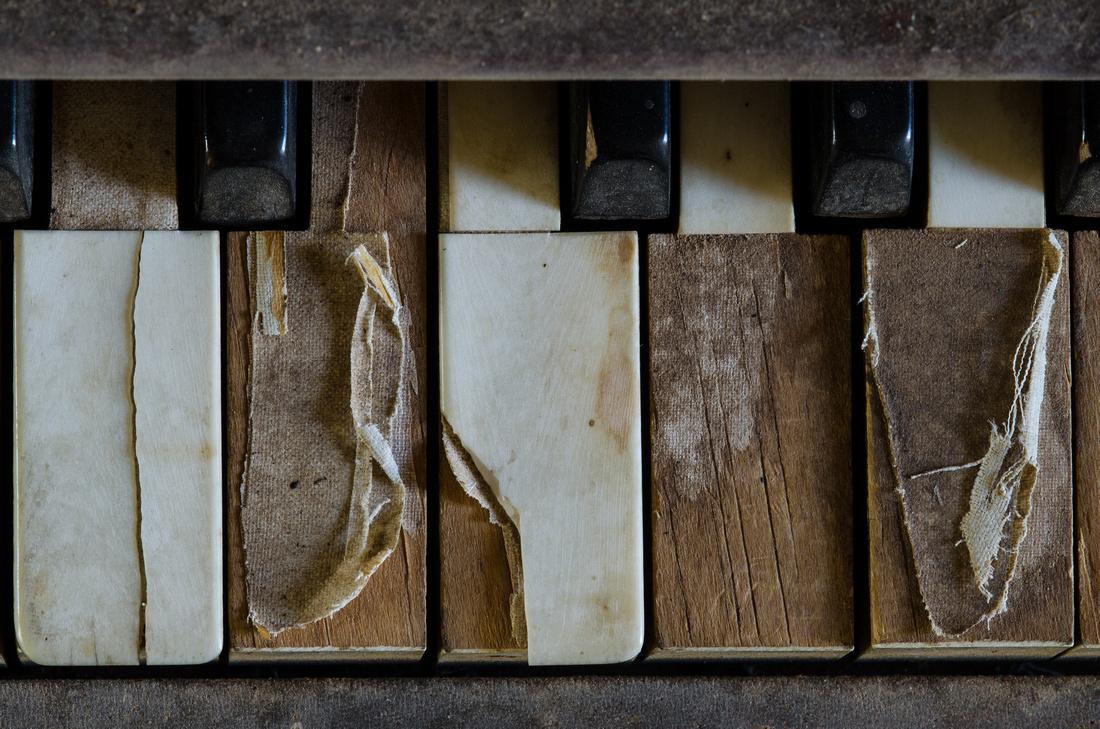 Old Worn Out Keys, Ruby Schoolhouse, AZ
