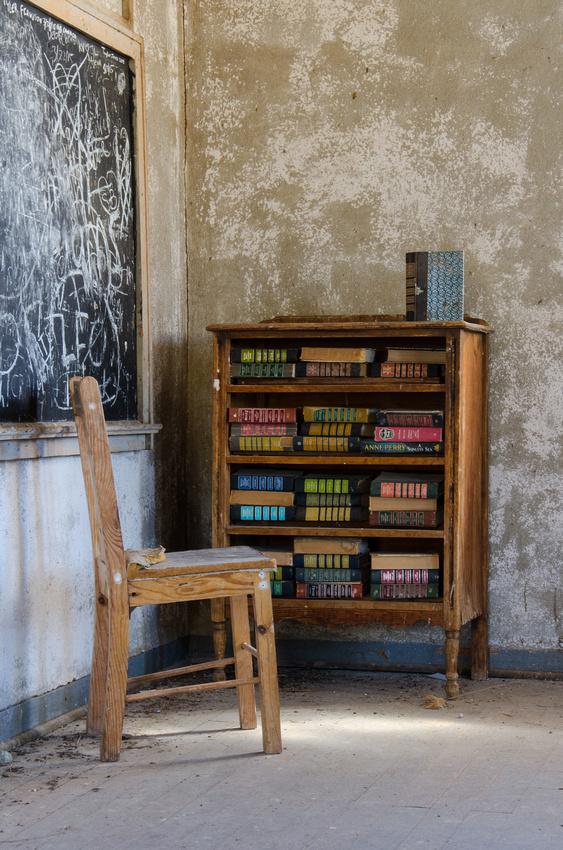 Bookshelf, Ruby Schoolhouse, AZ