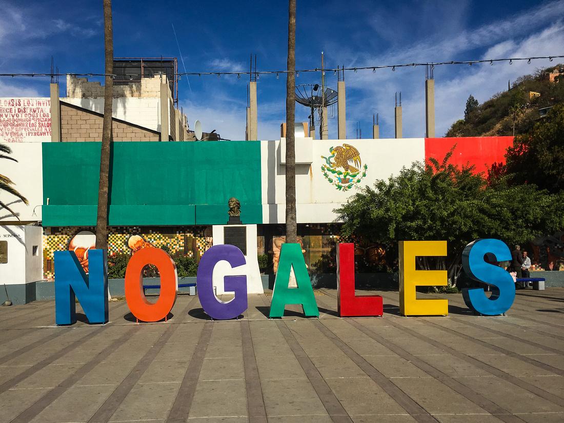 Nogales Letters Sign, Nogales, Mexico