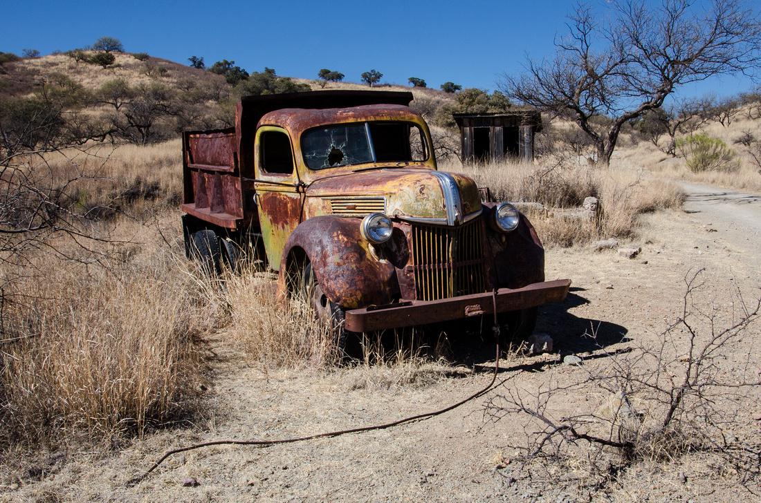 Ruby Ghost Truck, AZ